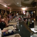 Our happy group of diners��