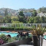 Nice roof top pool with stunning views