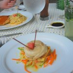 I enjoyed the white fish with an orange buerre blanc - IL Pescatore