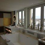 salle de bain de la suite royale