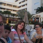 familia terraza