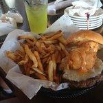 Cheese Curd Burger