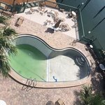 piscina fechada