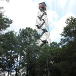 Old firetower, closed off and unable to climb