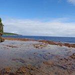 Matavai beach at low tide