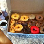 Seriously good donuts! Sunshine in a box! All Fat-free...LOL!