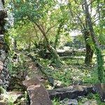 Walking around Nan Madol
