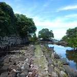 Walking around Nan Madol