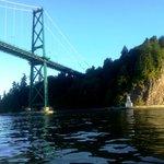 View of Lions Gate Bridge, Vancouver