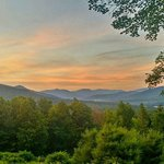 Summer Sunset over Mount Tremper