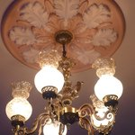 Light fittings in the dining room
