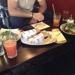 Панини и салат