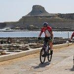 Cycling in Xwejni, Gozo