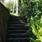 Stairway to river Ayun