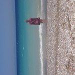 Beautiful beach 2 minutes walk away