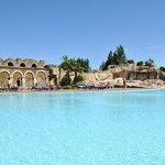 Una delle meravigliose piscine del Tahiti Park