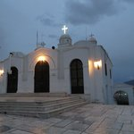 Chapel of Agios Georgios at the top