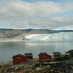 Ice camp Eqi, Disko Bay, Greenland