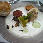 Entrée (mais où est le foie gras ?)