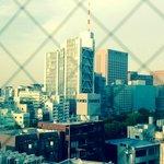 Vue sur Tokyo depuis la chambre