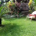 Garden - immaculate and peaceful.