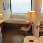 Smallish but funky rooms