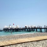 the pool pier