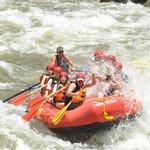Shoshone class 4 rapids.