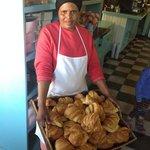 Warm & fresh croissants