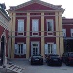 Porzione lato nord del palazzo storico