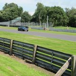 My Aston Martin on the track.