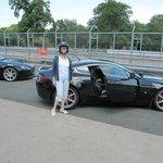 Me and 'my' Aston Martin.