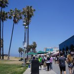 Venice boardwalk (just a minute's walk)
