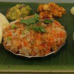 Friday and Saturday vegeterian briyani.....