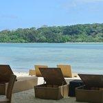Beach area near Calypso Bar