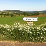 En allant à Masclaux (petit hameau près d'Arlempdes où se situe la chambre d'hôtes)