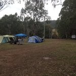 Camp site, water close and on site mobile toilets cleaned everyday