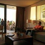 Une suite et sa terrasse avec vue magique