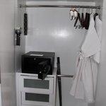 Large safe and wardrobe