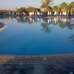 The picture of part of the pool