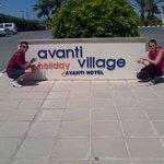 The sign for Avanti Village