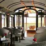 The observation carriage (with bar)