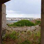 view of Mahon from La Mola