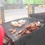 Vendor Jerking @ market square