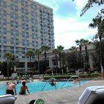 Cabana View Of Hotel
