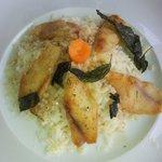 Il riso al persico che ho gustato al Ristorante La Punta!
