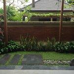 Courtyard off room