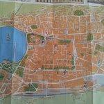 Tourist map of Como