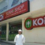 KOi Sushi ● Shop y el mejor Chef de sushi en Acapulco. Chef Alfredo Andrade.