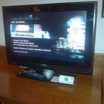 Huge television